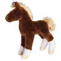 Teak Chestnut Foal Plush Standing Pony - 10