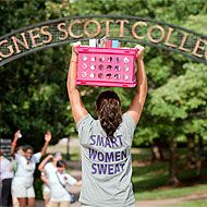 Looking for a college to change your life? Click here and look no further! Agnes Scott College | Colleges That Change Lives