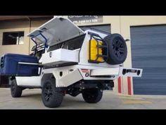2016 Hilux Custom Tray and Canopy Custom Flatbed, Custom Truck Beds, Custom Trucks, Hilux 2016, Toyota Camper, Ute Canopy, Ute Trays, Truck Toppers, Defender Camper