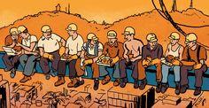 Según un estudio, si todos los trabajadores almorzaran bien, incluso mejoraría el PIB