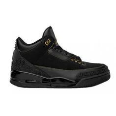 455657-001 Air Jordan 3 BHM Black History Month Black Metallic Gold A03015 Price: $103.99  http://www.theblueretros.com/