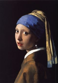 Vermeer. - This is amazing art.  You feel like you could reach thru the ether and talk to this girl.  The sheen of the pearl is a thing of indescribable magic.