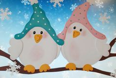 Winter-Vögel You are in the right place about Birds silhouette Here we offer you the most beautiful pictures about the british Birds you are looking for. When you examine the Winter-Vögel part of the Winter Crafts For Kids, Winter Kids, Spring Crafts, Draw Tree, Winter Drawings, Quilled Creations, Hello Winter, Winter Painting, Winter Pictures