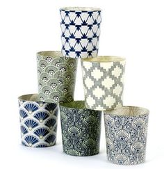 Tea Light In Blue Or Green - candles & home fragrance
