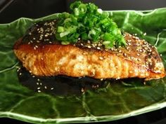 Japanese Home Cooking 4 - Shermay's Cooking School Teriyaki Salmon, Teriyaki Sauce, Soy Sauce, Japanese Teriyaki, Salmon Dishes, Salmon Fillets, Cooking School, Japanese House, Seafood