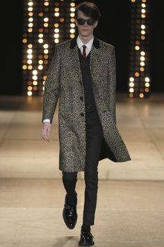 Saint Laurent - Men Fashion Fall Winter 2014-15 - Shows - Vogue.it