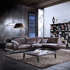 Superb Italian Leather Furniture