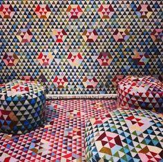 Collection de kilims Triangles, Bertjan Pot (Golran)