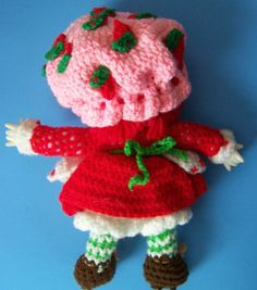 All+Free+Crochet+Dolls+Patterns | CROCHET DOLL PATTERN STRAWBERRY « CROCHET FREE PATTERNS