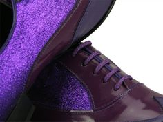 Purple Casanova shoe