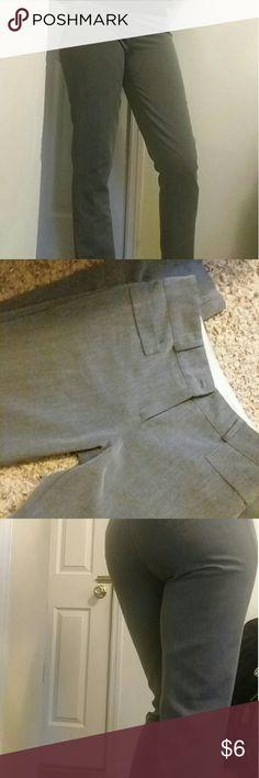 Gray work pants 🌹Stretchy skinny legged work pants 🌹Polyester, rayon, spandex 🌹Comfy and flexible Pants Skinny