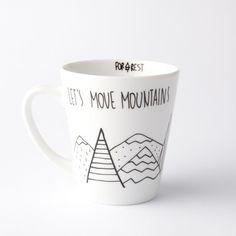 Hrnek Let´s Move Mountains, 400 ml