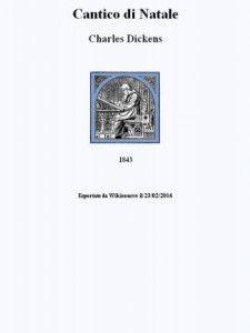 Ebook Gratuito - Cantico di Natale di Charles Dickens