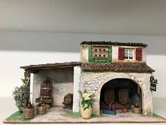 "L'ATELIER DE NÔEL: Mes creations de"" creche de Noel "" 2018 "" Miniature Houses, Diorama, Creations, Crafts, Nativity Scenes, Diy, Civilization, Ideas Para, Authors"
