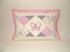 Geometric Butterfly Baby Pillow  Home Decor by Customquiltsbyeva, $50.00