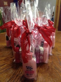 Prizes for a baby girl's shower or just thanks for coming gift..