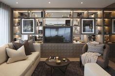 Interior Design Ideas by Rachel Winham! Best interior desingers Modern Living Room Modern Sofas #london #bestukinteriors #interiordesigntips Find more in: https://www.brabbu.com/en/inspiration-and-ideas/