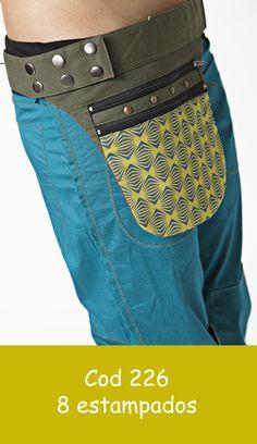 bandolera ajustable con diferentes diseños de telas estampadas