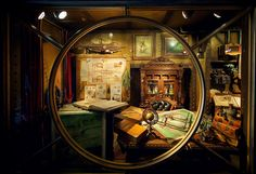 Captain Nemo's Quarters, By jdhilger  on flickr...... I want a room like this. It's awesome