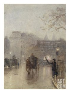 Kensington, 1894 Art Print by Rose Maynard Barton at Art.com