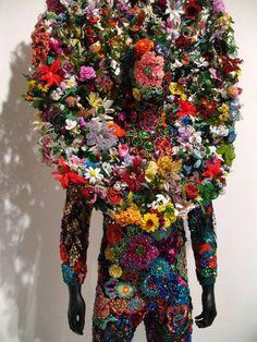 Nick Cave - Soundsuit for Harper's Bazaar Pop Design, Nick Cave Artiste, Textiles, Nick Cave Soundsuits, Look Fashion, Fashion Art, Crazy Fashion, Artist Fashion, Fashion Boards