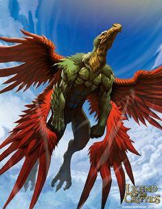 Jatayu era filho de Aruna e irmão de Sampati, portanto sobrinhos de Garuda, o famoso transportador de Vixnu. Pertenciam à raça das aves de rapina e eram enormes águias ou monstruosos abutres como os condores.