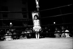 """Sandra Hoyn - The Fighting Children Artist's statement: """"Muay Thai is the national sport of Thailand. Around the world, it is respected as one of the most demanding and intense martial arts. Muay Thai, Mma, Krav Maga Techniques, Artists For Kids, Contemporary Photography, White Photography, Photo Series, Self Defense, Photojournalism"""