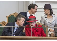 Danish Royal Family attended the opening of the parliament (Folketinget) in Copenhagen, Denmark  on October 6th 2015