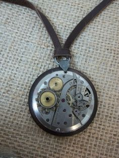 One of A Kind Large Vintage Steampunk by AnniFrohlichJewelry