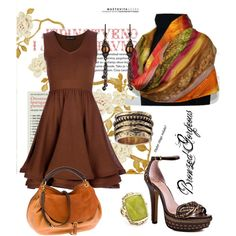 Bronzed Gorgeous, created by charlotte-bilton-carver on Polyvore