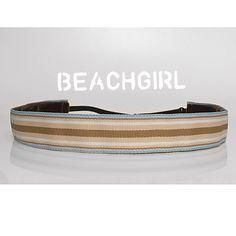 Walk On The Beach ~  Non Slip Adjustable Headband