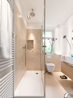 Luxury bathroom on a small area - Bathroom Decor Ideas Diy Bathroom Remodel, Bathroom Renovations, Basement Remodeling, Home Decor Bedroom, Small Room Bedroom, Luxury Living, Small Bathroom, Small Spaces, Small Rooms