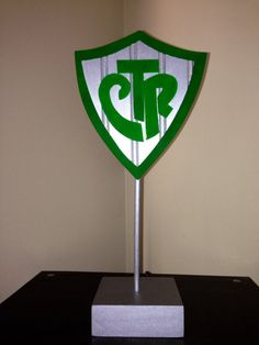 CTR Shield / centerpiece / LDS baptism by MYDECOShop on Etsy, $26.00  Find more LDS greats at: MormonFavorites.com