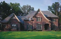 dark red brick home exteriors | brick color | House Exteriors