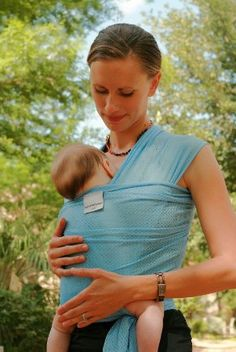 Amazon.com: Beachfront Baby Water Wrap Baby Carrier - Lime Green: Baby