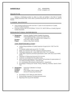 Quality Control Inspector Resume Sample Sample Qa Analyst Resume  Professional Skills For Resume Business .  Quality Inspector Resume