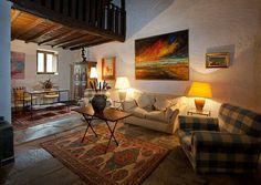 Caserío suite doble, salón - Los Alcornoques