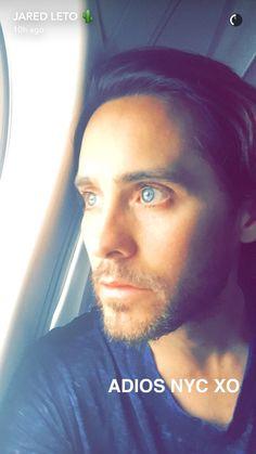 Jared Leto snapchat 5/6/2016