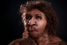 A Neanderthal Man. Amazing sculptures of ancient hominids by paleoartist Elisabeth Daynès.