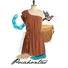 Pocahontas, created by jgreenwald on Polyvore