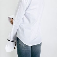 Clean and minimalist | ANNA QUAN shirting available now online from @theundonestore