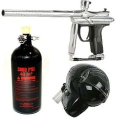 Spyder ELECTRA Titanium Paintball Gun!!! All the way!!!!!