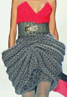 Skirt detail...