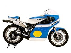 """The legendary Suzuki RG500: winner of the @Motorsport Retro """"Top 10: 500cc Grand Prix Production Racers"""". Beautiful and brutal in equal measure."""