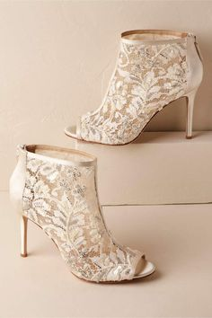 f1aa795abdfb Moyra Booties  ad  weddingshoes  weddingideas  weddinginspiration Bridal  Accessories