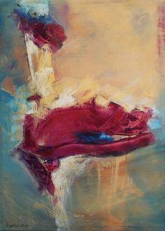 "Saatchi Art Artist Angelika Kade; Painting, ""THE ROSE"" #art"