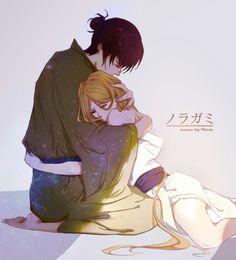 Noragami- Bishamonten and Kazuma #Anime