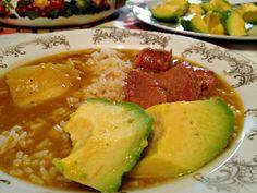 Dominican Sancocho, my Mom's recipe.