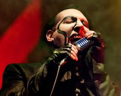 "Touring in support of his latest album, ""The Pale Emperor,"" Marilyn Manson performs ""Deep Six"" to a sold-out crowd on Friday, Jan. 30, 2015, at Stage AE in Pittsburgh. (Jack Fordyce  