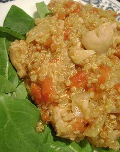 Jo and Sue: Curried Chicken Quinoa